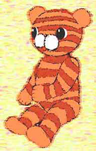 Master soft toy. Tiger.